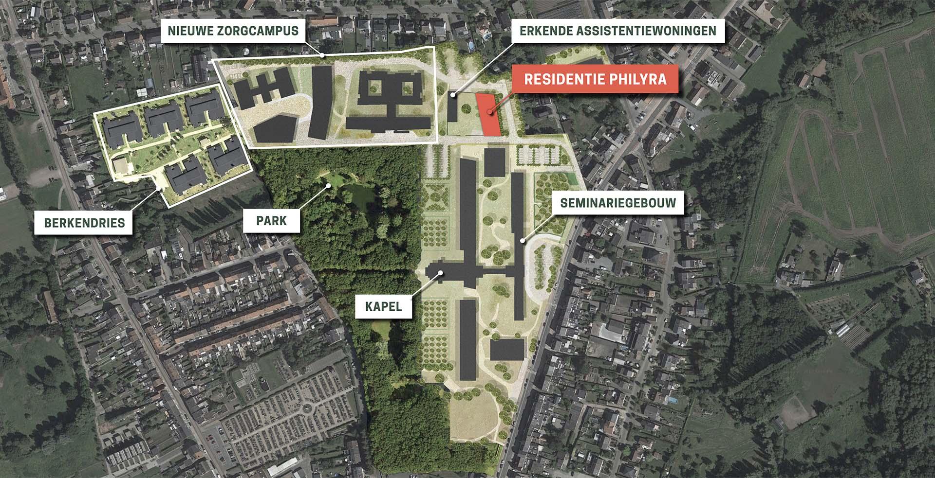 Borgerwijk Inplantingsplan